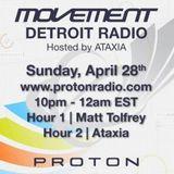 Ataxia @ Movement Detroit Radio (28-04-2013)