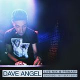 Dave Angel - Live @ Primary, Chicago (2015-09-18)