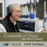 Community Or Chaos - 10-04-2018 - Marvin Hubbard poetry's relationship to Quakerism