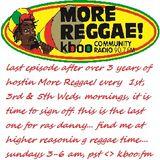 More Reggae! 5.3.17