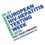 A Kék Pont és az AATSZ munkatársa a Tilos Rádióban az Európai HIV/HCV tesztelési hét keretén belül