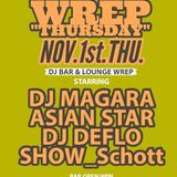 """WREP THURSDAY"" Nov.1st.Thu."