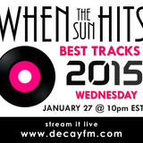 When The Sun Hits on DKFM #11 - Best Tracks of 2015 (part 2)