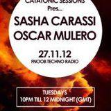 Catatonic Sessions 0021: Sasha Carassi & Oscar Mulero