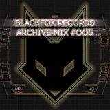 blackfox records archive mix #005 (mixed by F13)
