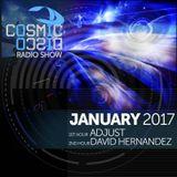 COSMIC DISCO RADIOSHOW - JANUARY 2017