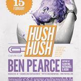 Neon @ Hush Hush 15 feb 2013 warm up before Ben Pearce