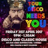 Your Disco Needs You excerpt 21.04.2017