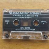 Ray Keith - Skibba & Fearless - Slammin Vinyl @ Bagleys 8th may 1998