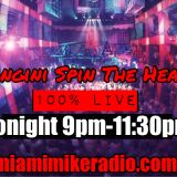 Anthony Mangini. Miami Mike Radio. April 10, 2019 (9pm - 11:30pm)