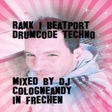 Rank1 #Beatport #Techno #BlackBeauty vs #Drumcode Bangers mix by #Cologneandy #Frechen #Technofamily