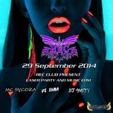 SEPTEMBER 2014 AT.REC CLUB PARTY MC SYCOZA DJ EMM DJ SUNJILOVE REMIX