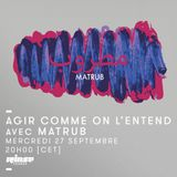 DJset for Agir Comme On L'Entend |Rinse France