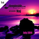 DEEPINSIDE presents NAJ (July 2014)