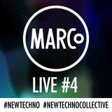 100% Marco van Zomeren - NEW TECHNO TRACK CONCEPTS - LIVE REC - #4