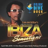 Ibiza Sensations 111 April 18th Drink Dive Duck @ A-One Royal Cruise Hotel Pattaya - Thailand