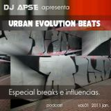 DJ ASPE APRESENTA URBAN EVOLUTION BEATS ESPECIAL BREAKS JAN. 2011