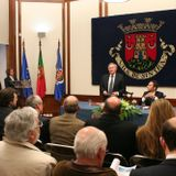 Basílio Horta na assinatura do protocolo de criação do Conselho Estratégico Ambiental de Sintra