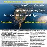 Airdigital - Trancefan Radioshow LIVE (January 2018-01-10)