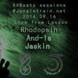 And-Is, Jaskin and Rhodopsin @ Jungletrain.net 2014.09.16