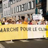 Manifestation pour le climat à Strasbourg le 13/10/2018