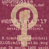 WHMPH 2017 Vol.4 KAOS radio Austin Mosh Pit Hell of Metal Punk Hardcore w doormouse dmf