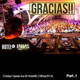 Cristian Varela live @ Hotel82 Valencia Fallas 2014 Part.1