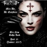 Mix New Gothic Rock (Part 21) By Dj-Eurydice (Janvier 2017)