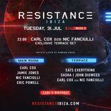 Carl Cox - Live @ Resistance (Privilege Ibiza, Spain) - 31.07.2018