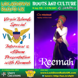 Virgin Islands special and live interview and album presentation with songstress Reemah
