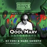 Qool Marv Spinning Vinyl Live at The NYC Dope Party at the Gallery at LPR - May 11 2019
