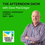 The Afternoon Show with David MacGregor - Broadcast 12/01/18