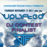 John Rayray Dema-ala - UPLIFTED DJ Contest (Nov 17th)
