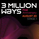 01 - Borra - 3 Million Ways 1st Anniversary @ TM Radio [ 20-aug-2011 ]