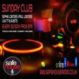Sunday Club 6th November: Sophie, Paul and Loui