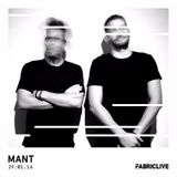 MANT - FABRICLIVE Guest Mix