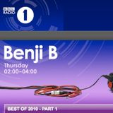 Benji B - Best Of 2010 (Part 1)