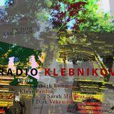 RADIO KLEBNIKOV Uitzending 9/11/2019