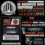 Da Maddhouze sits down with PZ and special guest Hazel Rose on KPOO 89.5 FM