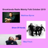 Brooklands Radio Mainly Folk October 2019