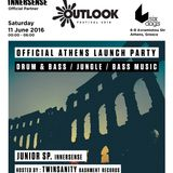Junior SP. feat. Twinsanity @ Outlook Athens Launch Party 2016