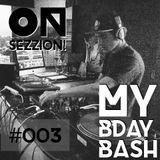 Mendozza - On Sezzion (BDayBash)