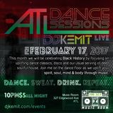 DJ Kemit presents ATL Dance Sessions Promo Mix Februrary 2017
