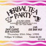 Dave Clarke at Herbal Tea Party (Manchester - UK) - 25 May 1995