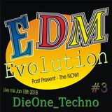 Evolution EDM live Jan 18th 2018 mixed by dieone_techno