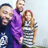 Jidenna on #WhatsUpLagos with VJ Adams & Flo
