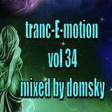 tranc-E-motion vol 34 mixed by domsky