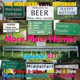 The Hoarders' Vinyl Emporium 211 - 'More Place Names'