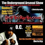 The Underground Arsenal Show with Special Guest O.C. of D.I.T.C.