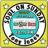 Soul On Sunday 25/03/18, Tony Jones, MônFM Radio * F U N K  B R O T H E R S * N. Soul & Motown *
